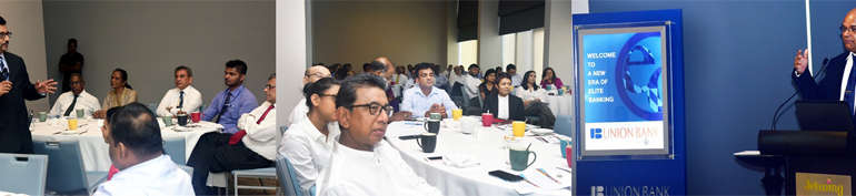 Union Bank conducts breakfast forum for Elite Circle clients